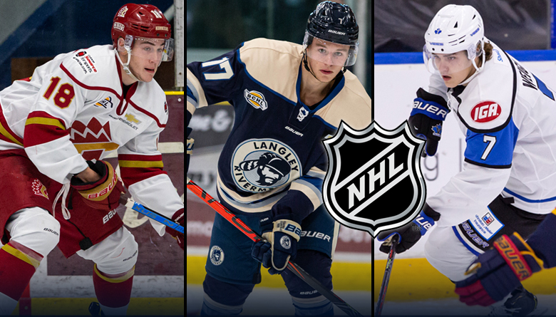 5 BCHL players listed by NHL Central Scouting